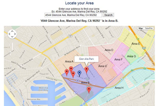 Del Rey Neighborhood Council Map