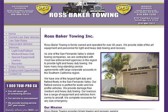 Ross Baker Towing