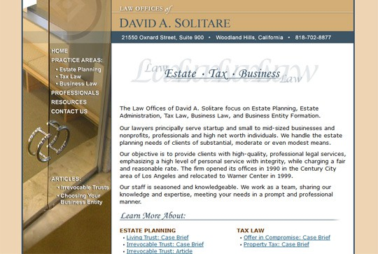 Solitare Law
