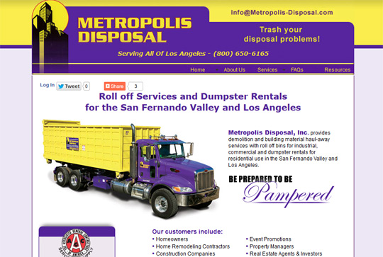 Metropolis Disposal