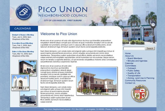 Pico Union Neighborhood Council