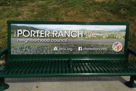 PRNC Bus Bench